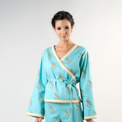 Sewing pattern kimono wrap