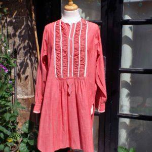Vintage shirt dress liquette